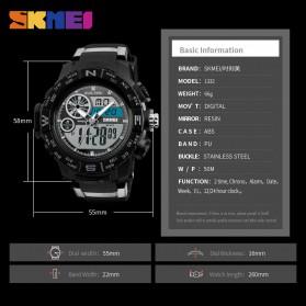 SKMEI Jam Tangan Digital Analog Pria - 1332 - Black - 5
