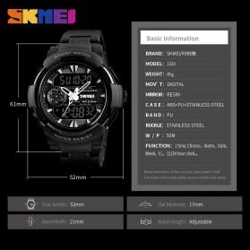 SKMEI Jam Tangan Digital Analog Sporty Pria - 1320 - Black - 2