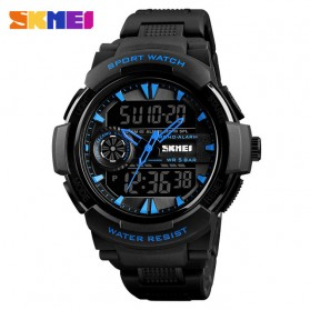 SKMEI Jam Tangan Digital Analog Sporty Pria - 1320 - Blue