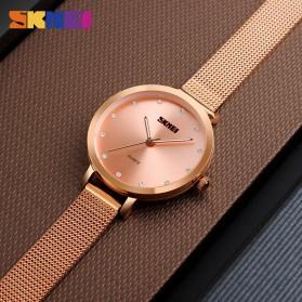 SKMEI Jam Tangan Luxury Wanita - 1291 - Silver - 3