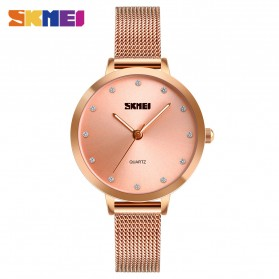 SKMEI Jam Tangan Luxury Wanita - 1291 - Rose Gold