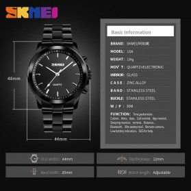 SKMEI Jam Tangan Analog Smartwatch Bluetooth Fitness Tracker - 1324 - Rose Gold - 8