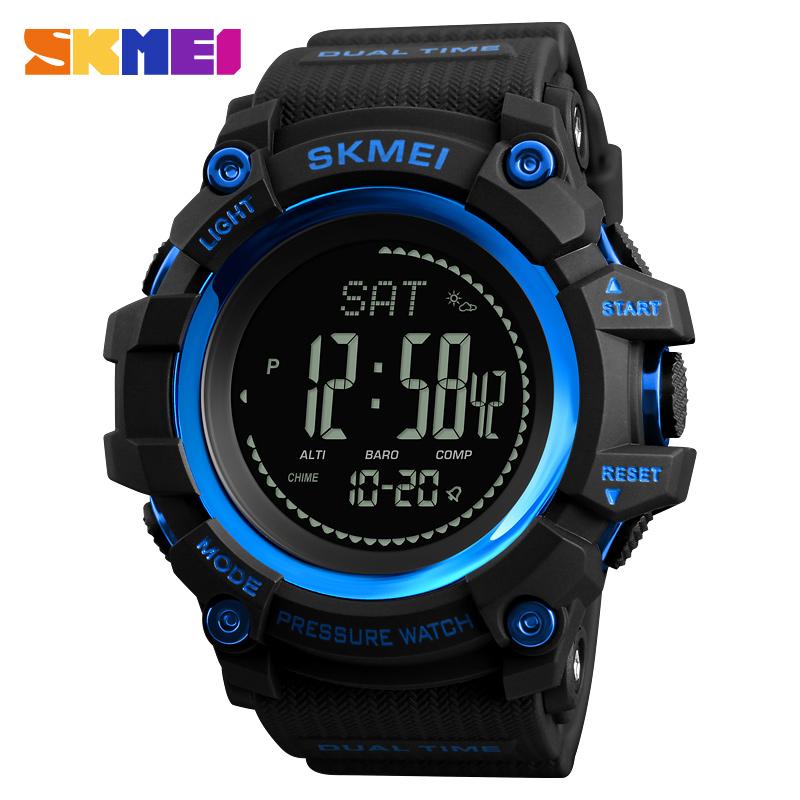 ... SKMEI Jam Tangan Digital Multifungsi Pria - 1358 - Blue - 1 ... 4d357a4154