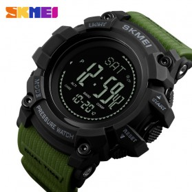 SKMEI Jam Tangan Digital Multifungsi Pria - 1358 - Army Green