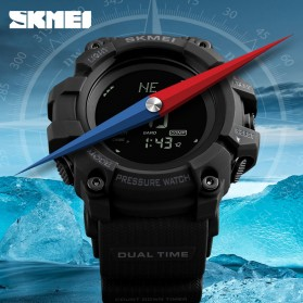 SKMEI Jam Tangan Digital Multifungsi Pria - 1358 - Army Green - 2
