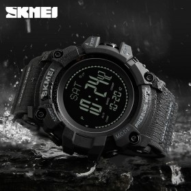 SKMEI Jam Tangan Digital Multifungsi Pria - 1358 - Army Green - 3
