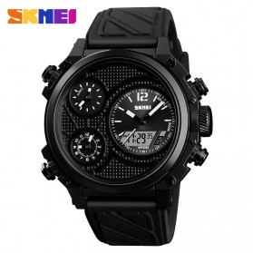 SKMEI Jam Tangan Digital Analog Pria - 1359 - Black