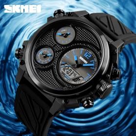 SKMEI Jam Tangan Digital Analog Pria - 1359 - Blue - 3