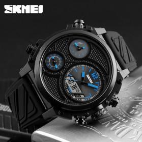 SKMEI Jam Tangan Digital Analog Pria - 1359 - Blue - 5