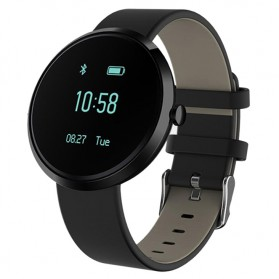 SKMEI Jam Tangan Digital Smartwatch Fitness Tracker Blood Pressure - H9 - Black