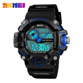 SKMEI Jam Tangan Digital Analog Pria - 1331 - Black Blue