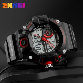 SKMEI Jam Tangan Digital Analog Pria - 1331 - Black - 4
