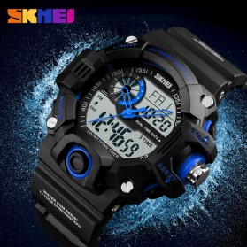 SKMEI Jam Tangan Digital Analog Pria - 1331 - Black - 5