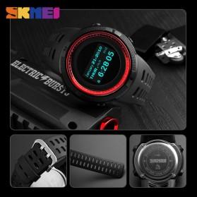 SKMEI Jam Tangan Digital Pria Kompas Pedometer Kalori Termometer - 1360 - Black - 8