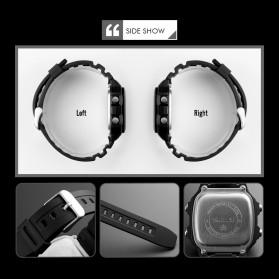 SKMEI Jam Tangan Digital Pria Kompas Pedometer Kalori - 1373 - Black - 6