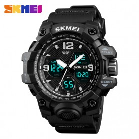 SKMEI Jam Tangan Digital Analog Pria - 1327 - Black