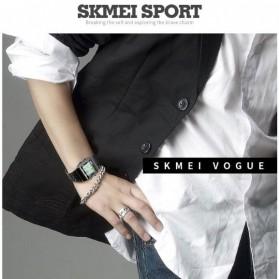 SKMEI Jam Tangan Fashion Digital Pria - 1338 - Silver - 3