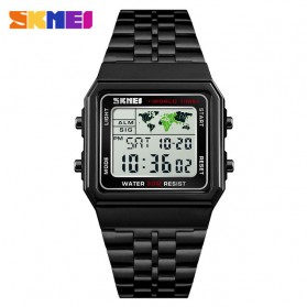 SKMEI Jam Tangan Fashion Digital Pria - 1338 - Black