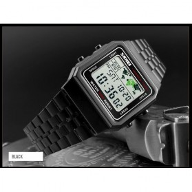 SKMEI Jam Tangan Fashion Digital Pria - 1338 - Black - 2