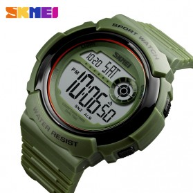 SKMEI Jam Tangan Digital Pria - 1367 - Black White - 2