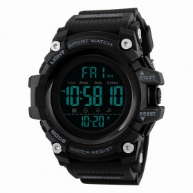 SKMEI Jam Tangan Sporty Digital Pria - 1384 - Black