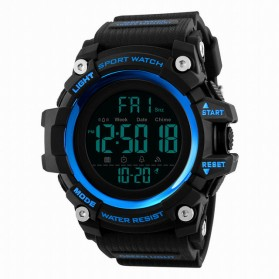 SKMEI Jam Tangan Sporty Digital Pria - 1384 - Blue - 1