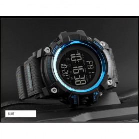 SKMEI Jam Tangan Sporty Digital Pria - 1384 - Blue - 2