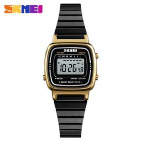 SKMEI Jam Tangan Digital Wanita - 1252 - Black Gold