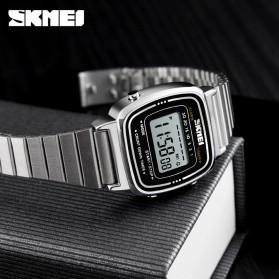 SKMEI Jam Tangan Digital Wanita - 1252 - Silver - 3