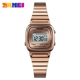 SKMEI Jam Tangan Digital Wanita - 1252 - Rose Gold