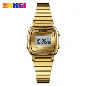 SKMEI Jam Tangan Digital Wanita - 1252 - Golden