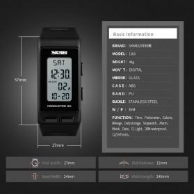 SKMEI Jam Tangan Digital Sport Pedometer Kalori - 1363 - Black - 5