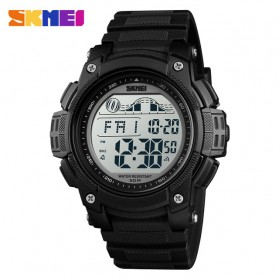 SKMEI Jam Tangan Digital Sporty Pria - 1372 - Black