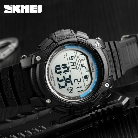 SKMEI Jam Tangan Digital Sporty Pria - 1372 - Black - 4