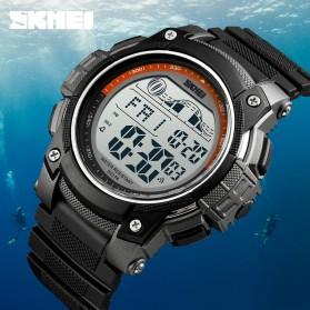 SKMEI Jam Tangan Digital Sporty Pria - 1372 - Black - 5