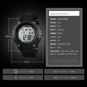 SKMEI Jam Tangan Digital Sporty Pria - 1372 - Black - 6