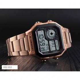SKMEI Jam Tangan Digital Fashion Pria - 1382 - Rose Gold - 2