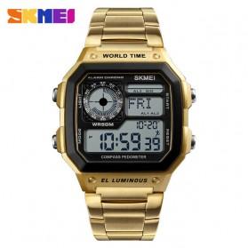 SKMEI Jam Tangan Digital Fashion Pria - 1382 - Golden - 1