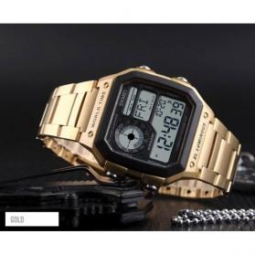 SKMEI Jam Tangan Digital Fashion Pria - 1382 - Golden - 2