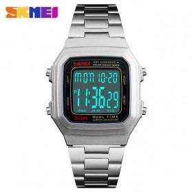 SKMEI Jam Tangan Digital Pria - 1337 - Silver