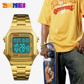 SKMEI Jam Tangan Digital Pria - 1337 - Rose Gold - 3