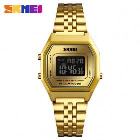 SKMEI Jam Tangan Digital Pria - 1345G - Black Gold