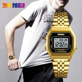 SKMEI Jam Tangan Digital Pria - 1345G - Champagne Gold - 2