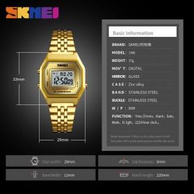 SKMEI Jam Tangan Digital Pria - 1345G - Champagne Gold - 5