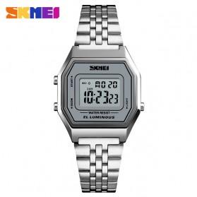 SKMEI Jam Tangan Digital Pria - 1345G - Gray Silver