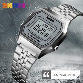SKMEI Jam Tangan Digital Pria - 1345G - Gray Silver - 3