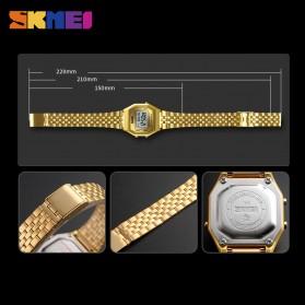 SKMEI Jam Tangan Digital Pria - 1345G - Gray Silver - 6