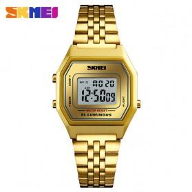 SKMEI Jam Tangan Digital Pria - 1345G - Golden