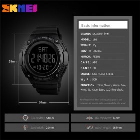 SKMEI Jam Tangan Digital Sporty Pria - 1346 - Black Gold - 5
