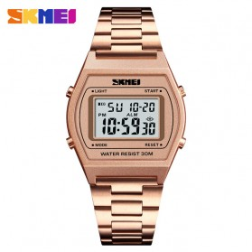 SKMEI Jam Tangan Digital Pria - 1328 - Rose Gold/Black - 1